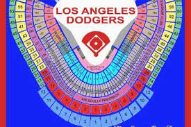 Dodger Stadium Concert Seating Chart Skillful Dodgers Stadium Seat Finder Dodgers Stadium Seat