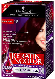 Schwarzkopf 10 Minute Hair Color Chart Keratin Color