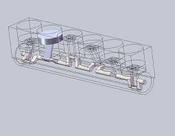 inline 6 cylinder engine solidworks 3d cad model grabcad