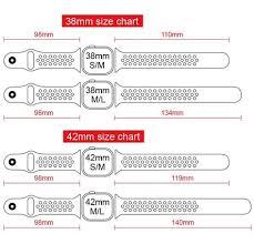 Apple Watch Size Chart