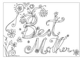 Small Picture Mothers Day Colouring Pages