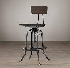 restoration hardware vintage toledo bar chair