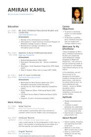 Relief Teacher Resume Samples Visualcv Resume Samples Database