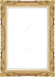 Image Line Floral Gold Photo Frame With Corner Line Floral For Picture Vector Frame Border Design Decoration Pattern 123rfcom Gold Photo Frame With Corner Line Floral For Picture Vector