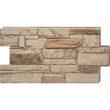 ledgestone 35 desert tan 24 in x 48 in stone veneer panel