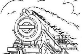 Polar express coloring pages at last minute train pictures to color polar express coloring page sponsored links The Polar Express Train Coloring Pages Tsgos Com