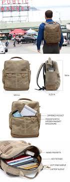 Waterfield Designs Bolt Backpack Bolt Backpack Leather Laptop Bag Messenger Bag Men Mens