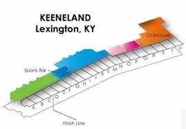 Keeneland Seating