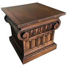 Dark Wood Bedside Table Ebay Side Furniture Tables Small Kitchen