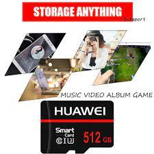 Thẻ Nhớ Huawei U3 512gb / 1tb Tf Cho Điện Thoại / Máy Tính Bảng giá cạnh  tranh