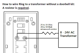 how to connect your ring video doorbell directly to a low voltage do not install a diode