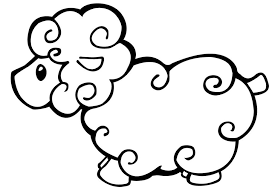 Small Picture Sheep Coloring Page lezardufeucom