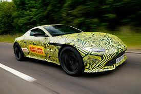 aston martin v8. the new 2018 aston martin v8 vantage: latest spy photos e