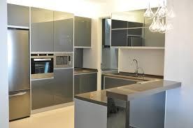 aluminium kitchen cabinet. Kitchen Design Aluminium Stylish Stainless Steel For Modern Cabinet Pictures Sleek Twist On I