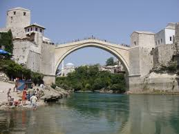 pictorial essay awesome bridges of the world the burning  the old bridge bosnia