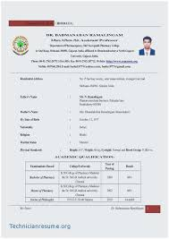 Pharmacy Resume Samples Resume Samples For Pharmacy Freshers Outstanding Resume Format For