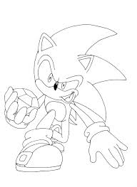 Free Super Sonic Coloring Pages Coloring Games Movie