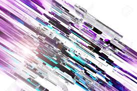 Modern Abstract Background Design 3d Glassy Colorful Blocks