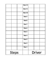 School Bus Seating Chart Template School Bus Pattern Printable