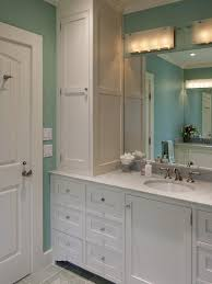 bathroom side cabinets. Full Size Of Bathroom Accessories Decoration: Vanity With Tall Side Cabinet Cabinets Intended For R