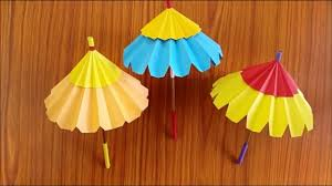 how to make a umbrella with paper origami paper umbrella diy paper umbrella making step by step