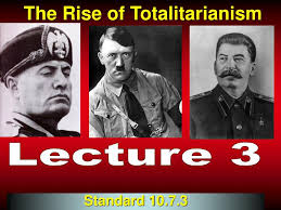 totalitarian leaders ppt the rise of totalitarianism powerpoint presentation id 1030921