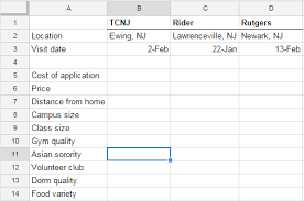 college selection spreadsheet how to organize your college list lets win college