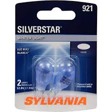 Sylvania Headlight Bulb Comparison Chart Sylvania 921 Silverstar Mini Bulb Brighter And Whiter Light Ideal For Center High Mount Stop Light Chmsl And More Contains 2 Bulbs