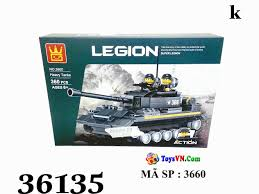 Đồ chơi xếp hình lắp ráp xe tăng cho trẻ em - Mã SP: 3660 - Đồ Chơi Trẻ Em  - ToysVN.Com