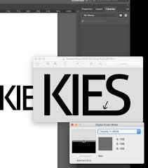 Illustrator Export As Png Adding Grey Border Around Logo Text Making