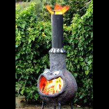 picture of outdoor fire place chimenea from ferrocement