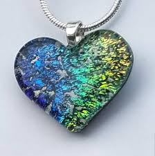 glass cremation jewelry sterling