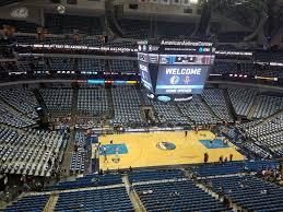 Mavs Arena Seating Chart American Airlines Center Section 311 Dallas Mavericks