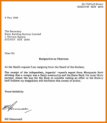 Format Resignation Letter Word Choice Hairdresser Apprentice Cover