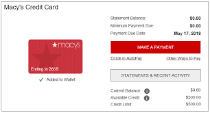 Just state your request and provide the information necessary to confirm your identity. How To Use My Macy S Credit Card The File Bucket