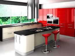 Contemporary Kitchen Units Kitchen 62 Red Kitchen Cabinets Contemporary Red Kitchen Units
