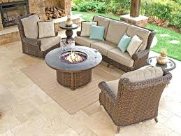 decoration beautiful outdoor furniture fire pit for popular of patio with table calypso resin