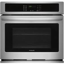 frigidaire self cleaning single electric wall oven easycare stainless steel common