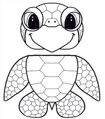 Small Picture Puppet Honu Sea Turtle Free Coloring Sheet Download Print