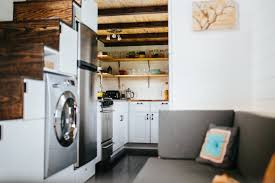 tiny house washer dryer. Take It From A Tiny House: 12 Smart Small Space Tricks That Really Work House Washer Dryer R