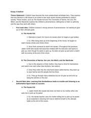 color of success rhetorical analysis essay student written  2 pages character analysis essay outline student written