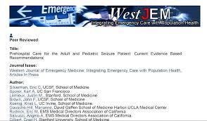 Emdac Org Prehospital Care Of Seizure
