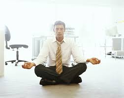 meditation businessman office. pro director successful buddhist businessman anura leslie perera meditation office l