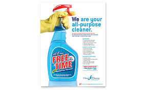 cleaning service advisement flyers house cleaning housekeeping brochure template design