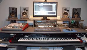 full size of desk diy home recording studio desk in studio desk size plan of