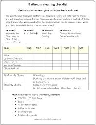 bathroom cleaning schedule. Template: Restaurant Schedule Template Bathroom Cleaning Checklist Sample Marketing P C