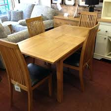 extending dining table and 4 chairs extending oak dining table with 4 chairs small oak extending