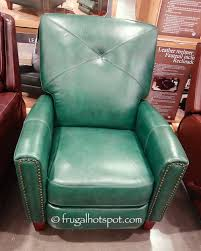 this recliner is best seen in person my didn t capture the proper shade of green