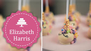 How To Make Unicorn Cake Pops Cake Decorating Tutorial Youtube