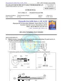 Otomotif kendaraan ringan dan sepeda motor. Soal Dan Kunci Jawaban Sistem Kelistrikan Tkr Otomotif Cute766